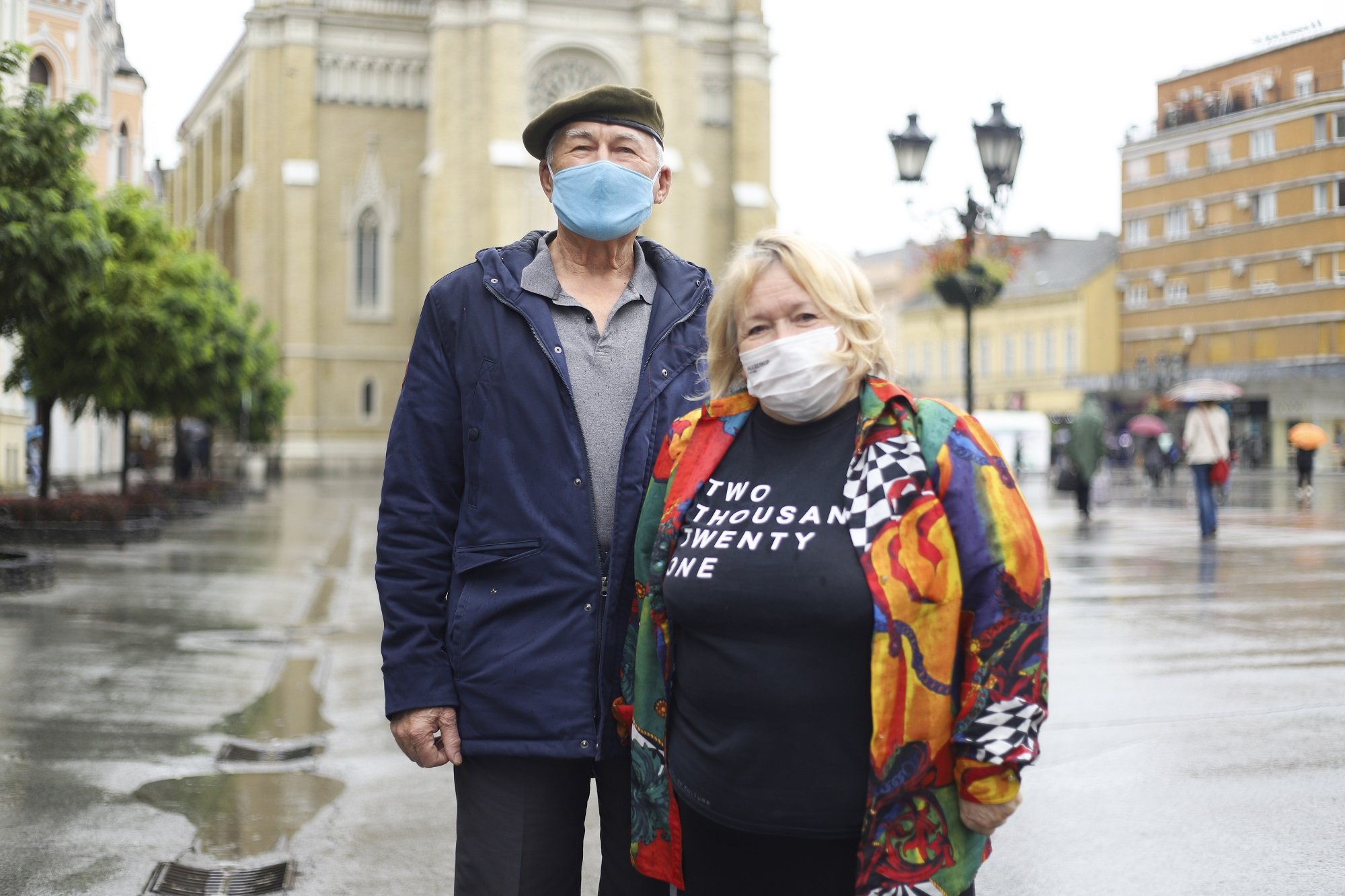 Ljubica i Mića, Lica Novog Sada
