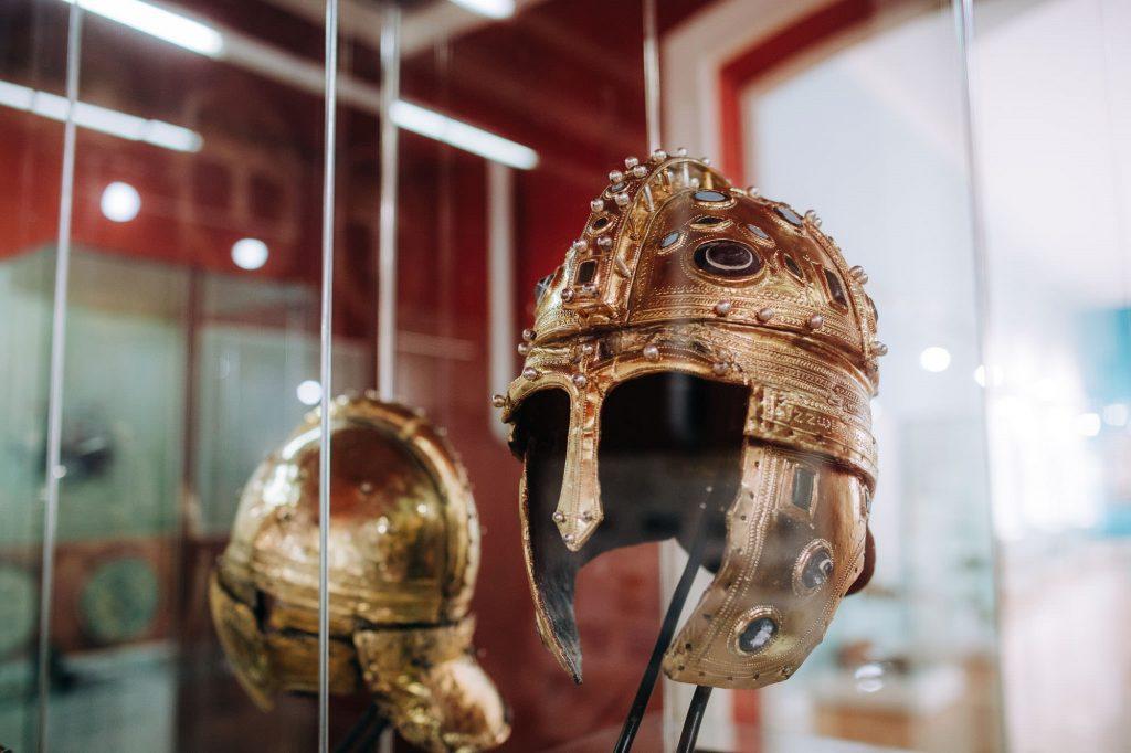 Šlemovi iz postavke Muzeja Vojvodine