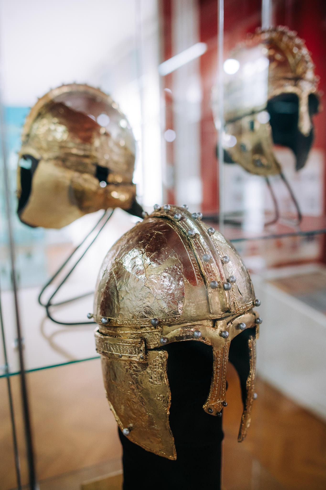 Tri šlema Muzej Vojvodine