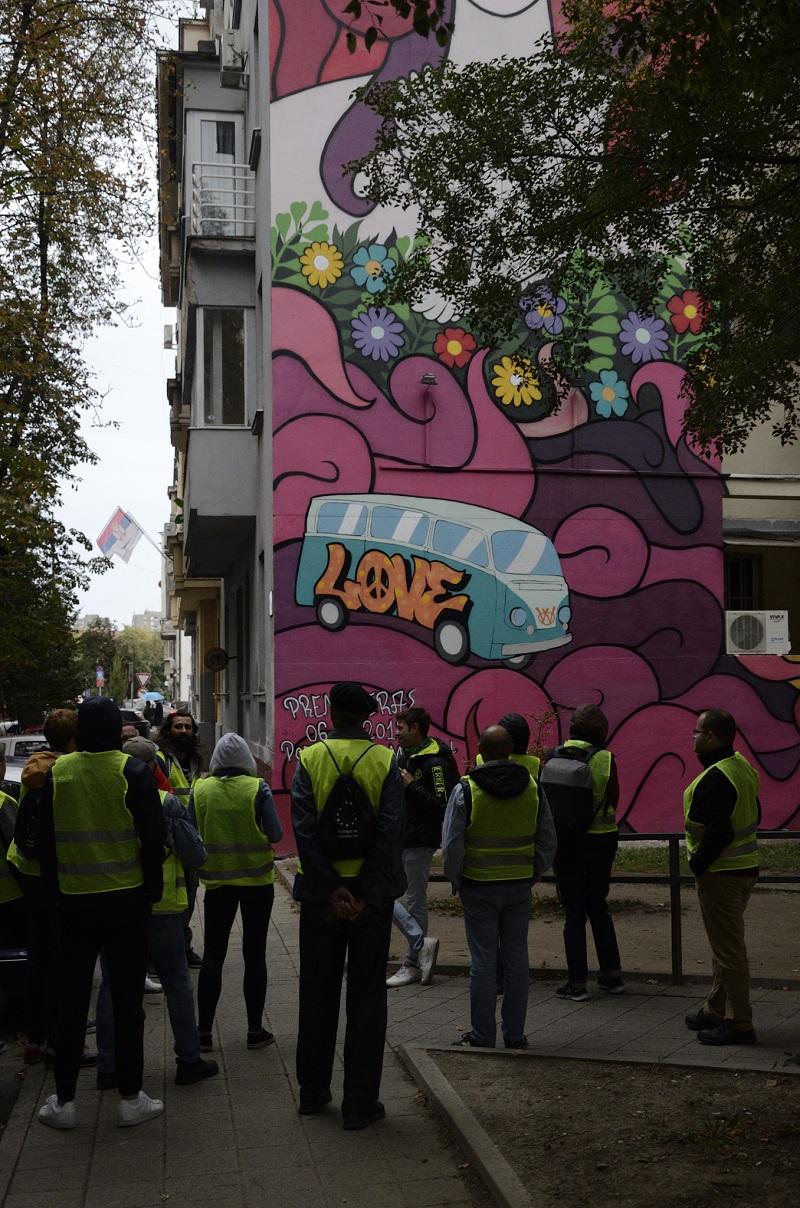 Street art bici ruta