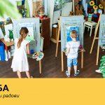 Exhibition of children's Easter works @ Rumenka CS│Spring Children's Festivities